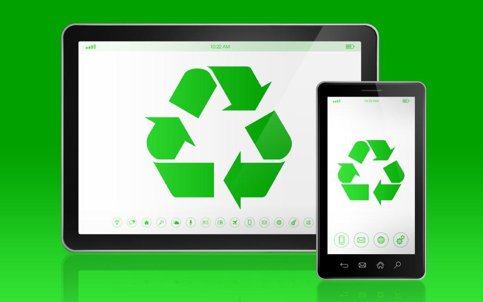 携帯電話のリサイクルにご協力を